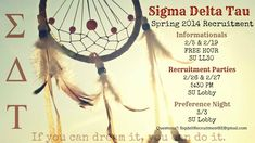 recruitment spring '14
