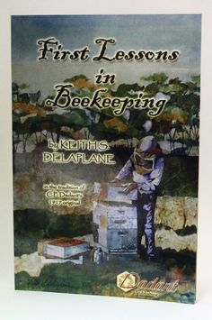 This popular #beginners book will give you some great first lessons in #beekeeping. http://beewellhoneyfarm.com/product/book-first-lessons-in-beekeeping/