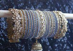 Wedding Jewellery Designs, Fancy Jewellery, Stylish Jewelry, Jewelry Design, Bridal Bangles, Wedding Jewelry, Indian Jewelry, Indian Bangles, Shivangi Joshi Instagram