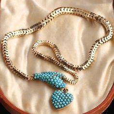 Edwardian Jewelry, Antique Jewelry, Designer Friends, Black Jewelry, Tiffany And Co, Heart Locket, Garnet, Beaded Necklace, Fertility