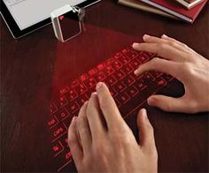 Have a keyboard with you any where you go with this virtual infrared keyboard. This virtual infrared keyboard is the size a cell phone but allows you have the functionality of a full size keyboard, with the added benefit of wireless Bluetooth technology. Buy It $169.99 via Amazon.com