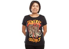 """""""Generic Crazy Band Shirt"""" - Threadless.com - Best t-shirts in the world"""