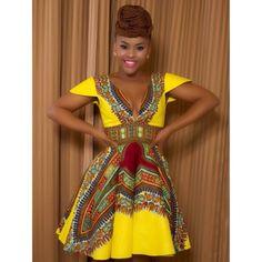 #african #print #dress
