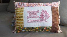 Mrs. Weasley's Burrow Pillow - NEEDLEWORK (felicitybaby)