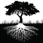 tree with roots, would love s.th. like that on my foot