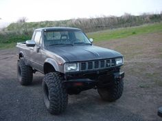 A beater Toyota 4x4 Truck for light trails and all around fun