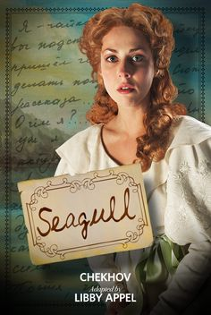 SEAGULL (2012): Nell Geisslinger as Nina.  Photo by Jenny Graham.