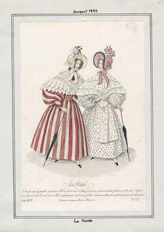 La Mode August 1833 LAPL