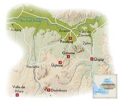 Viaje por la región de Capadocia · National Geographic en español. · Rutas y escapadas