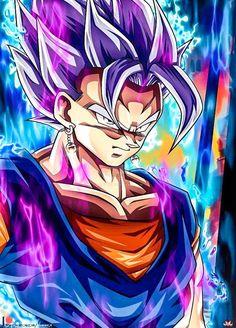 Vegetto UI Mastered by Maniaxoi on DeviantArt Dragon Ball Gt, Dragon Ball Image, Photo Dragon, Goku E Vegeta, Foto Do Goku, Manga Dragon, Goku Dragon, Goku Wallpaper, Dragon Super