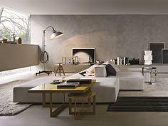 SECTIONAL UPHOLSTERED MODULAR SOFA FREESTYLE BY MOLTENI & C. | DESIGN FERRUCCIO LAVIANI