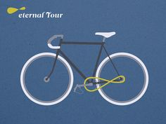 Eternal Tour: Illustration by Krautput via etsy