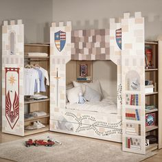Monday's aren't so bad when you've got your own castle to wake up in 🏰Our 3 piece combo is everything you need in one tidy, beautiful package. Bunk Beds, Toddler Bed, Empire, 3 Piece, Luxury, Castle, Instagram Posts, Knights, Furniture