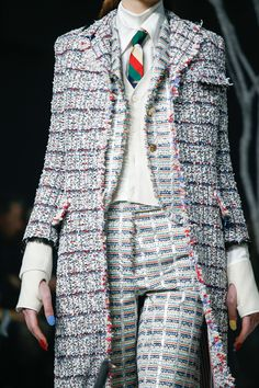 Thom Browne Fall 2017 Ready-to-Wear Atmosphere and Candid Photos - Vogue