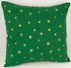 Gold Stars on Green