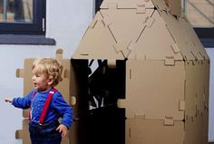 Want! Cardboard construction blocks in 4 shapes/sizes.  This might be something I could make // Shop OdRzeczy