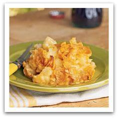 Skinny hashbrown casserole