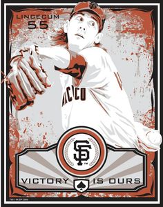 Tim Lincecum   San Francisco Giants Baseball by SportsPropaganda, $50.00