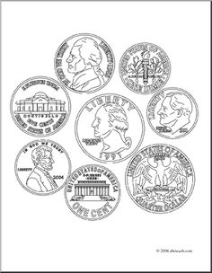 coins coloring page - 1000 images about coloring pages on pinterest coloring