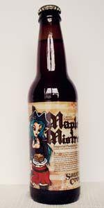 Captain Pumpkin's Maple Mistress Imperial Pumpkin Ale   Saucony Creek Brewing Company   Kutztown, PA (Openning Tap 2014)