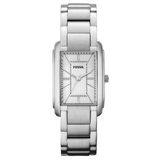 Fossil Womens Adele Silver Watch #fossil