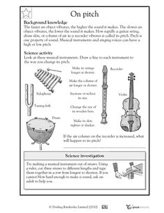 sound worksheet can you hear it physical science science and worksheets. Black Bedroom Furniture Sets. Home Design Ideas