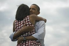 Four More Years. President Barack Obama and First Lady Michelle Obama.