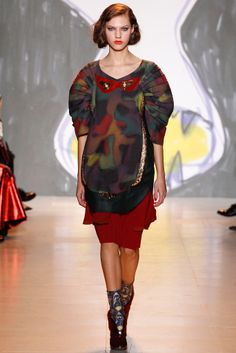 Tsumori Chisato | Fall 2014 Ready-to-Wear Collection | Style.com