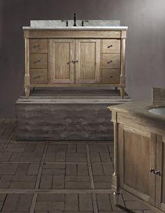 unpolished rustic black granite bathroom pinterest black granite bathroom vanities and double bathroom vanities - Rustic Chic Bathroom Vanity