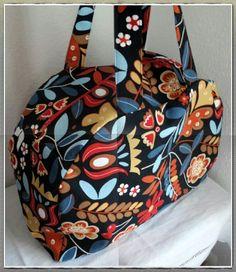 Coudre un sac bowling - tissu Ikéa - Cthéusine aime le DIY