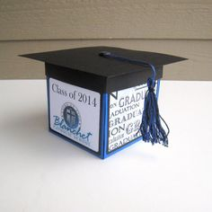 Custom Personalized Graduation Exploding Box by BGardenCreations, $20.00