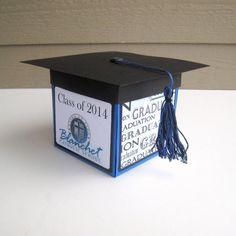 Custom Personalized Graduation Exploding Box by BGardenCreations, $20.00
