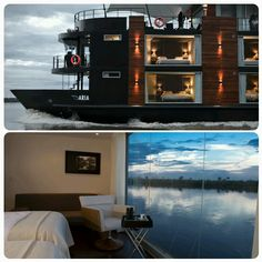 #house #boat #sky