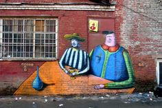 Mural, Moscow, 2006