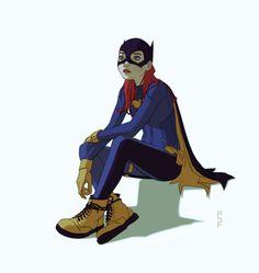 de cameron-stewart's & babsdraws, la Batgirl