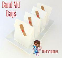 Party bags for a Doc McStuffins party