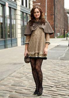 Como usar vestido no inverno - How to wear a dress in winter time (2)