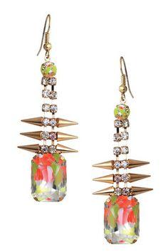 Square Spike Earrings on HauteLook