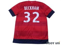 """""""Paris Saint Germain 2012-2013 Away #32 Beckham""""  Classic , old clothes , it is the net shop of vintage football shirts(Soccer Jerseys). Assortment of difficult rare item available is also abundant."""