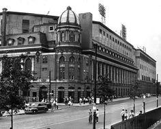 Shibe Park. Home of the Philadelphia Athletics and the Philadelphia Phillies.