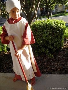 All Saints' Day Costume - Mary