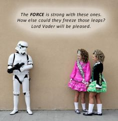 Irish dance vs. Star Wars