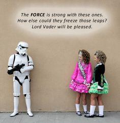 Irish dance vs. Star Wars