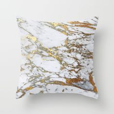 Gold+Marble+Throw+Pillow+by+Jenna+Davis+Designs+-+$20.00