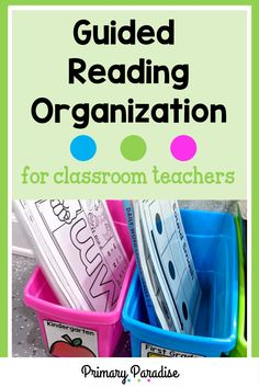 Small group organization that actually works and keeps your materials at your fingertips. Perfect for guided reading & intervention teachers! Small Group Organization, Guided Reading Organization, Guided Reading Activities, Back To School Organization, Teacher Organization, Teacher Hacks, Classroom Procedures, Classroom Teacher, Classroom Activities