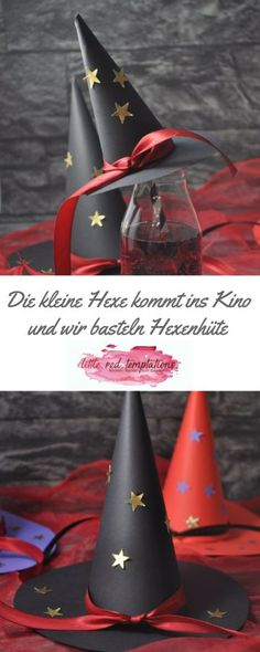 Die kleine Hexe kommt ins Kino - little. The little witch is finally coming to the Diy Halloween Costumes, Halloween Crafts, Halloween Decorations, Crafts For Girls, Diy For Kids, Witch Party, About Time Movie, Girl Birthday, Easy Crafts