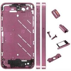 #iPhone4 Midframe Pink changes your #iPhone look at lowest price.
