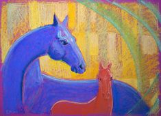 "Ознакомьтесь с моим проектом @Behance: «""Red foal""» https://www.behance.net/gallery/47038605/Red-foal"