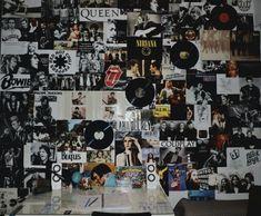Indie Room Decor, Cute Room Decor, Teen Room Decor, Aesthetic Room Decor, Room Ideas Bedroom, Hipster Room Decor, Boho Decor, Punk Rock Bedroom, Edgy Bedroom