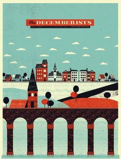 The decemberists by The Silent Giants